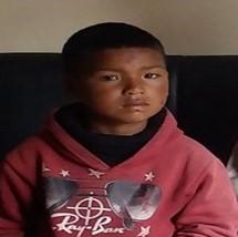 Hikmat Thapa, 5 Jahre, lebt seit April im DTCH Childrens Home